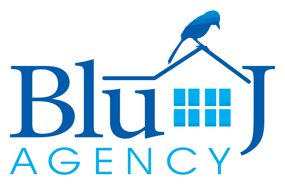 Blu J Agency Logo