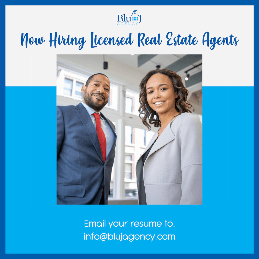 Now Hiring Real Estate Agents